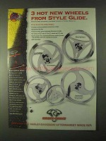 1999 Biker's Choice Style Glide Wheels Ad - Desperado