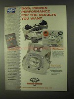 1999 Biker's Choice S&S Shorty Super Carburetors Ad