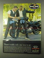 1999 Biker's Choice River Road Leather Apparel Ad
