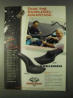 1999 Biker's Choice Saddlemen Profiler, Lo-Boy Seats Ad