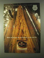 1999 Redwood Tobacco Ad - Far From the Mainstream