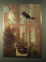 1999 Redwood Tobacco Ad - Far From Mainstream