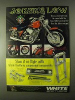 1999 White Brothers Suspension Components Ad
