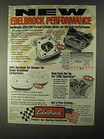 1999 Edelbrock Performer RPM Cylinder Heads Ad - Performance