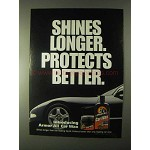 1999 Armor All Car Wax Ad - Shines Longer Protects