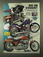 1999 Drag Specialties Motorcycle Parts Ad - Big Exhaust