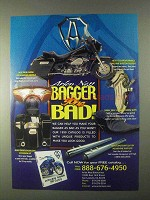 1999 Arlen Ness Motorcycle Parts Ad - Bagger Gone Bad