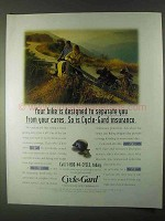 1999 Geico Cycle-Gard Motorcycle Insurance Ad - Cares
