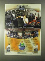1999 Bel-Ray Gear Saver, EXS Motor Oil Ad - Jesse James - Stress-Free