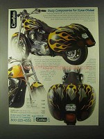 1999 Corbin Motorcycle Parts Ad - For Dyna-Glides