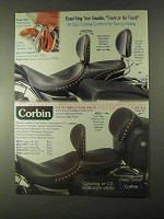 1999 Corbin Road King Tour Saddle Ad