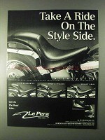 1999 Le Pera Silhouette Seat Ad - Take a Ride On