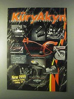 1999 KuryAkyn Motorcycle Parts Ad - Daring Products