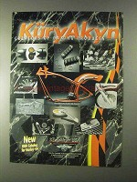 1999 KuryAkyn Motorcycle Parts Ad - Daring