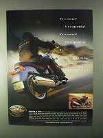1999 Victory V92SC Motorcycle Ad - It's A Cruiser?