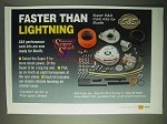 1999 S&S Super E&G Carb Kits Ad - Faster than Lightning