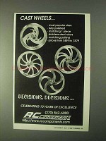 1999 RC Components Cast Wheels Ad
