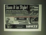 1999 White Brothers Lowering Kits Ad - Slam It in Style