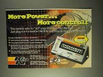 1999 K&N Power Commander II Ad - More Power