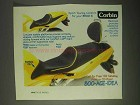 1999 Corbin R11S Saddle and 297 Backrest Ad