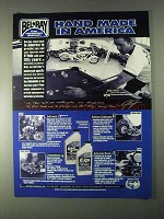 1998 Bel-Ray Gear Saver, EXS Motor Oil Ad, Jesse James