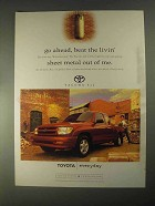 1998 Toyota Tacoma 4x2 Pickup Truck Ad - Beat the Livin