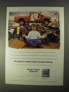 1998 Ford Ranger 4-Door SuperCab Pickup Truck Ad