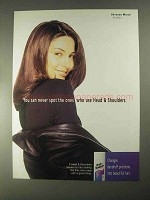 1998 Head & Shoulders Shampoo Ad - Vanessa Marcil
