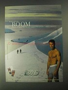 1998 BVD Underwear Ad - How Much Room?