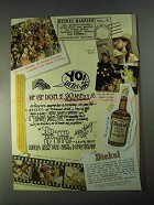1998 Dickel Whisky Ad - We Use As a Sacrament