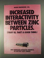1998 Energizer Batteries Ad - Increased Interactivity