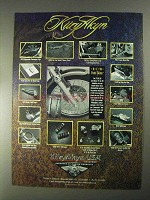 1998 KuryAkyn Motorcycle Parts Ad
