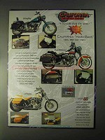 1998 CMC StingRey, RoadWarrior and LeReyna Motorycle Ad