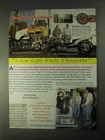 1998 CMC Road Warrior Motorcycle Ad - Full Throttle