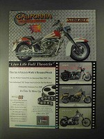 1998 CMC StingRey Motorcycle Ad - Live Full Throttle