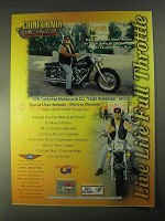 1998 CMC Flash WideRider Motorcycle Ad - David Diaz