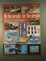 1993 Drag Specialties Parts & Accessories Ad - People