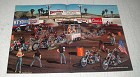 1987 David Mann Illustration - Ventura Biker Rodeo