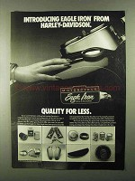 1985 Harley-Davidson Eagle Iron Parts & Accessories Ad