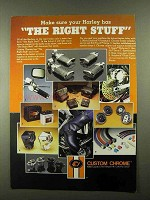 1984 Custom Chrome Parts & Accessories Ad - Right Stuff