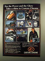 1983 Custom Chrome Parts and Accessories Ad - Power