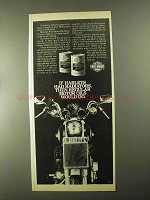 1982 Harley-Davidson Motorcycle Oil Ad - If Radiators