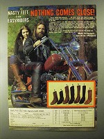 1982 Chippewa Nasty Feet Boots Ad - Nothing Close