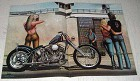 1982 David Mann Illustration - Out of Jail