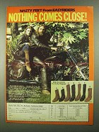 1981 Chippewa Nasty Feet Boots Ad