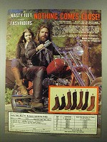 1981 Chippewa Nasty Feet Boots Ad - Nothing Close