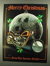 1979 David Mann Illustration - Merry Christmas Jammer