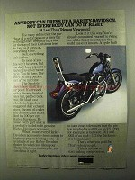 1978 Harley-Davidson Accessories Ad - Sportster Cycle