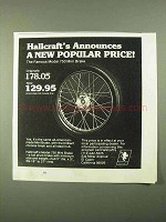 1978 Hallcraft Model 750 Mini Brake Ad