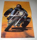 1978 David Mann Illustration - Trike